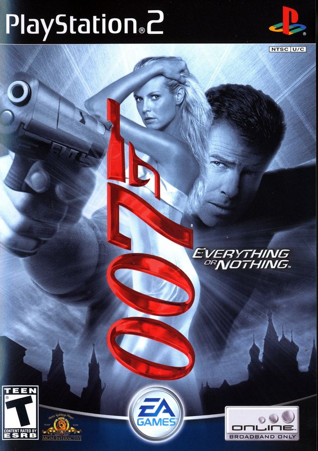 PS2: 007 EVERYTHING OR NOTHING (COMPLETE)