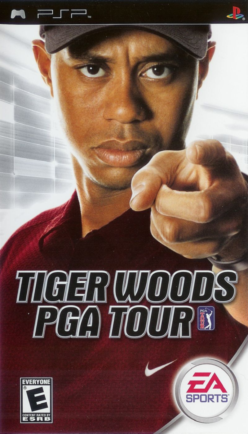 PSP: TIGER WOODS PGA TOUR (COMPLETE)