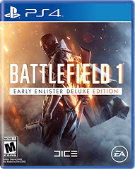 PS4: BATTLEFIELD 1 EARLY ENLISTED DELUXE EDITION NM (COMPLETE)
