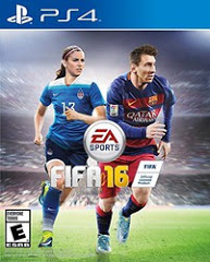 PS4: FIFA 16 (NM) (STEELBOOK) (COMPLETE)