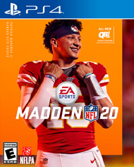 PS4: MADDEN NFL 20 (NEW)