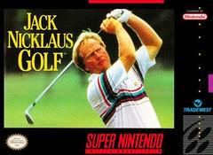 SNES: JACK NICKLAUS GOLF (LABEL ISSUES) (GAME)
