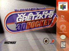 N64: WAYNE GRETZKYS 3D HOCKEY (GAME)