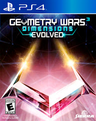 PS4: GEOMETRY WARS 3 DIMENSIONS EVOLVED (COMPLETE)