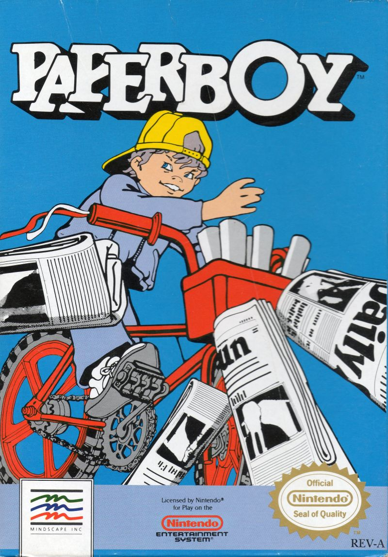 NES: PAPERBOY (MANUALONLY)