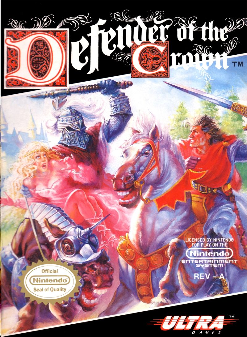NES: DEFENDER OF THE CROWN (MANUALONLY)