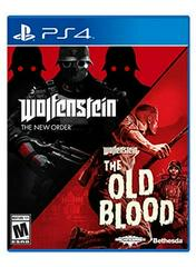 PS4: WOLFENSTEIN THE NEW ORDER AND THE OLD BLOOD (NM) (COMPLETE)