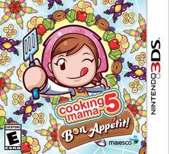 3DS: COOKING MAMA 5: BON APPETIT (GAME)