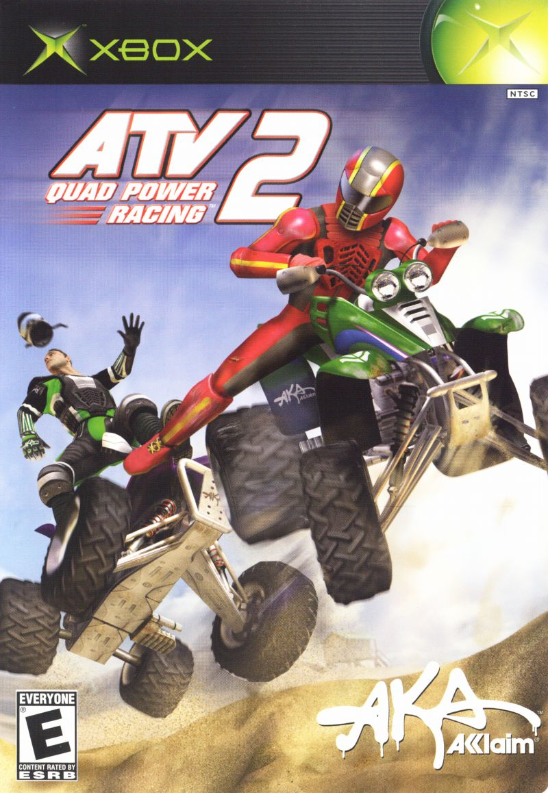 XBX: ATV QUAD POWER RACING 2 (COMPLETE)