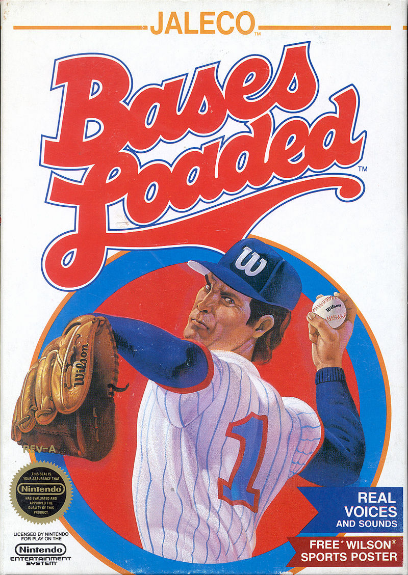 NES: BASES LOADED (JALECO) (GAME)