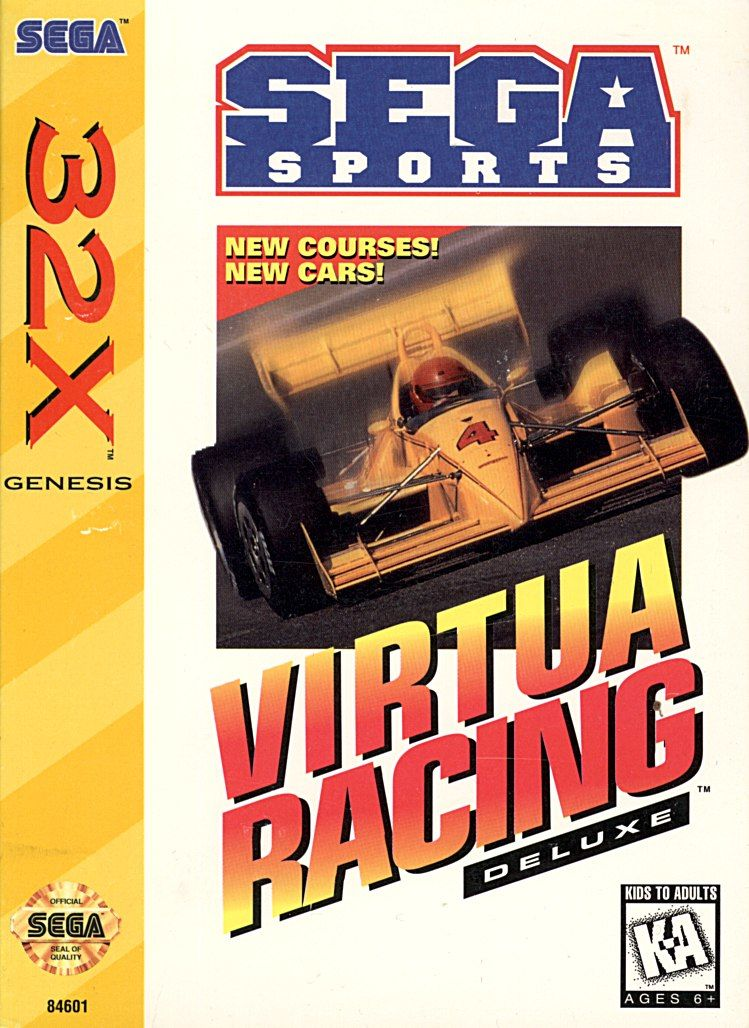32X: VIRTUA RACING DELUXE (GAME)