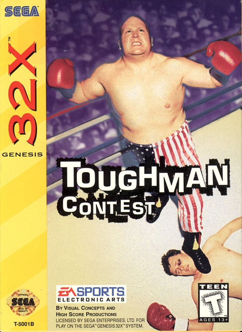 32X: TOUGHMAN CONTEST (GAME)