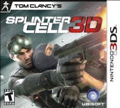 3DS: TOM CLANCY SPLINTER CELL 3D (GAME)