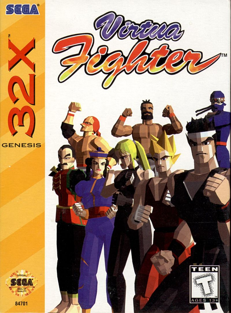 32X: VIRTUA FIGHTER (GAME)