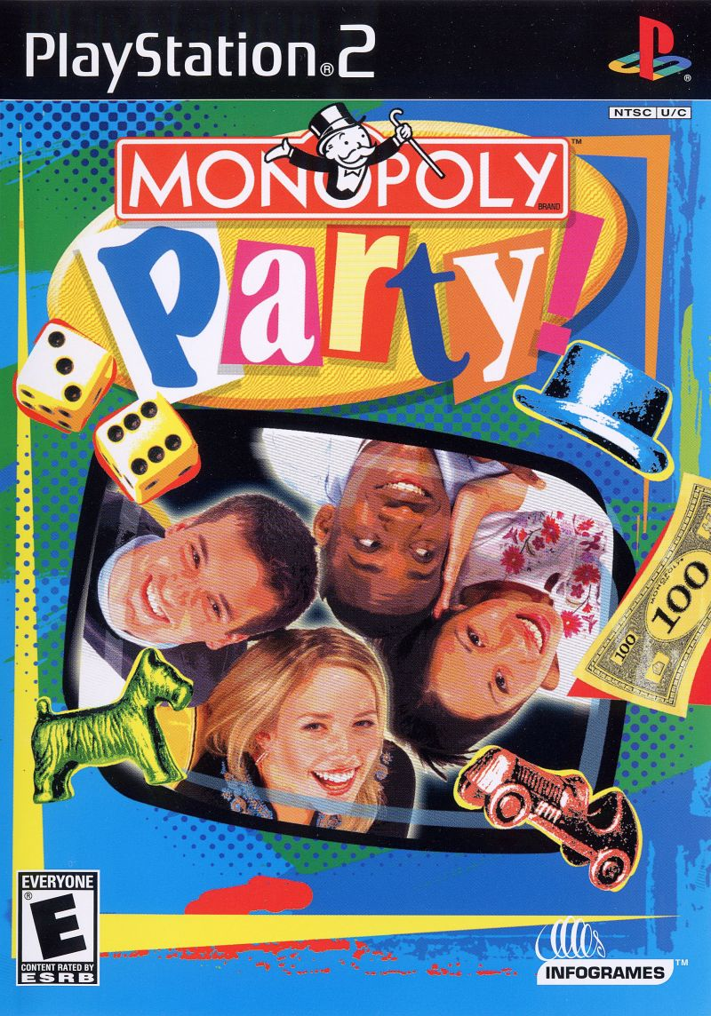 PS2: MONOPOLY PARTY (COMPLETE)