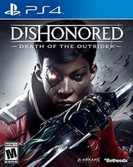PS4: DISHONORED DEATH OF THE OUTSIDER (NM) (COMPLETE)