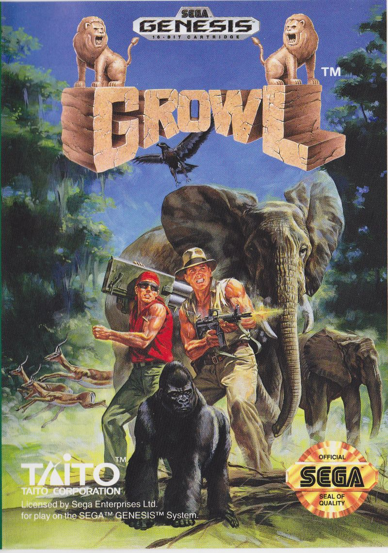SG: GROWL (GAME)