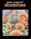 2600: ADVENTURE (MISSING END LABEL) (GAME)