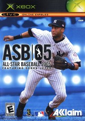 XBX: ALL STAR BASEBALL 2005 FEATURING DEREK JETER (COMPLETE)