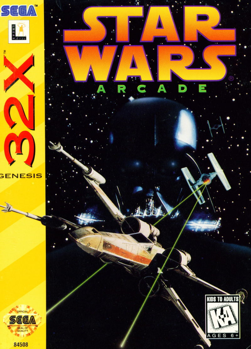 32X: STAR WARS ARCADE (GAME)
