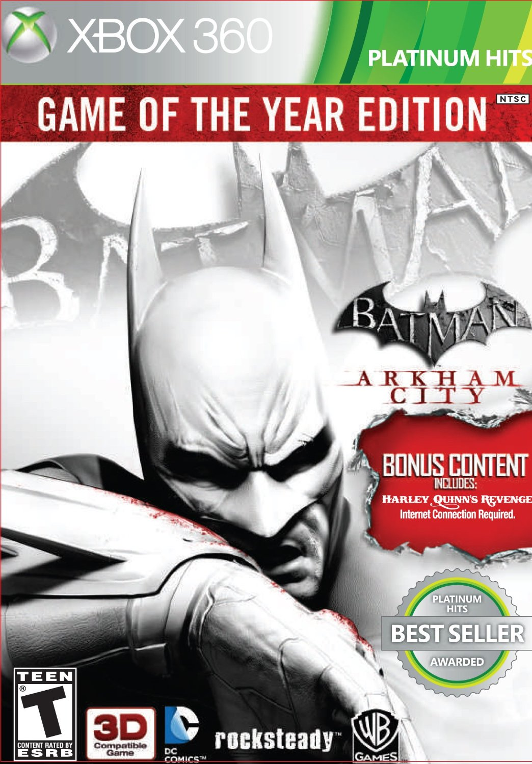 360: BATMAN ARKHAM CITY (GAME OF THE YEAR EDITION) (2DISC) (BOX)