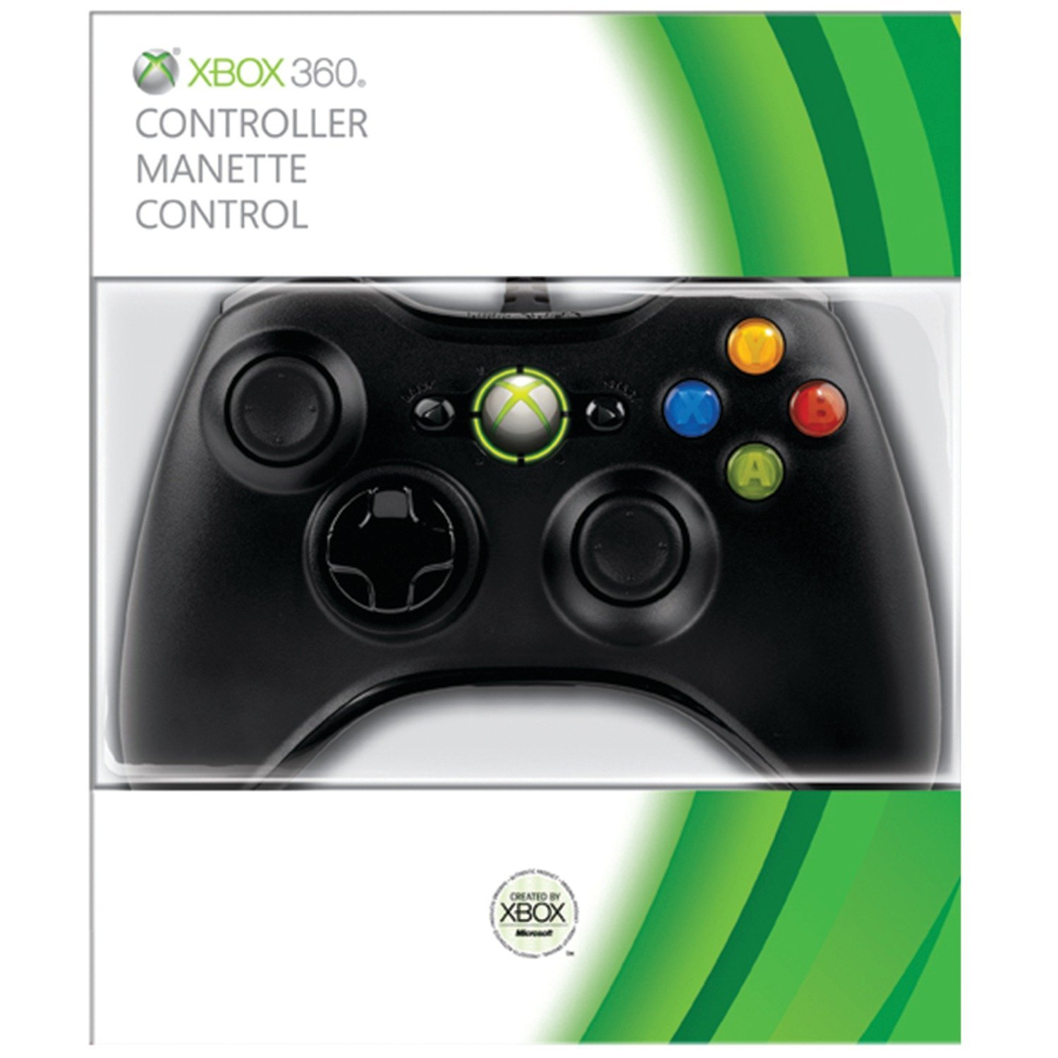 360: CONTROLLER - MSFT - WIRED - BLACK (USED)