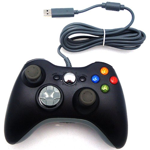 360: CONTROLLER - GENERIC - WIRED - BLACK (NEW)