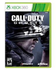 360: CALL OF DUTY: GHOSTS (2DISC) WITH GUIDE BOOK (NM) (COMPLETE)