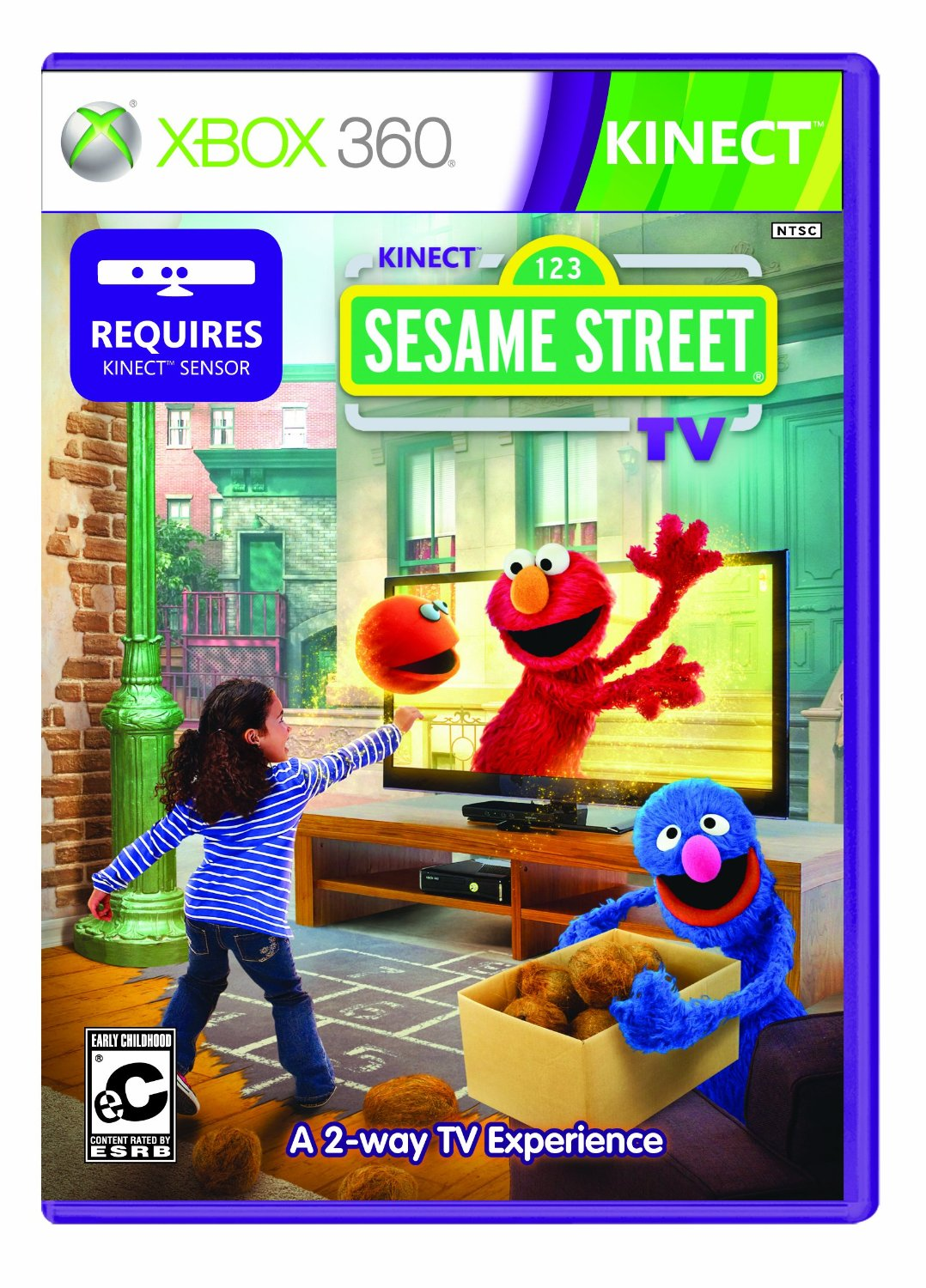360: SESAME STREET TV: SEASON 1 (KINECT) (NEW)