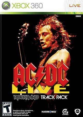 360: AC/DC LIVE ROCK BAND TRACK PACK (NEW)