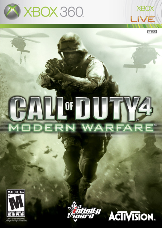 360: CALL OF DUTY 4: MODERN WARFARE (NEW)