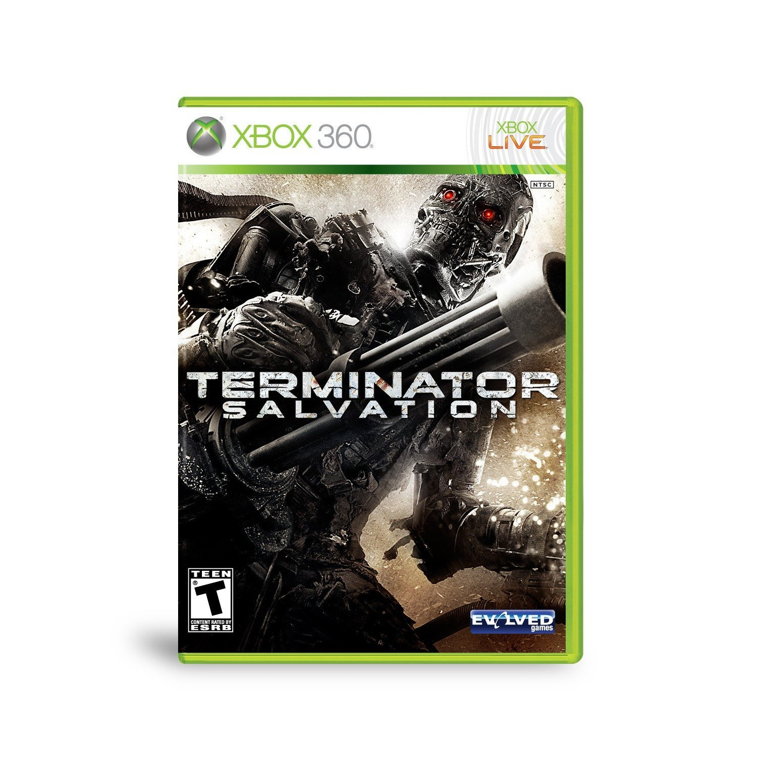 360: TERMINATOR SALVATION (GAME)