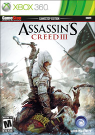 360: ASSASSINS CREED III (2DISC) (COMPLETE)