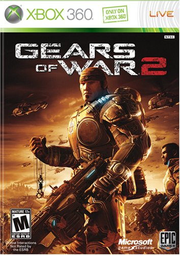 360: GEARS OF WAR 2 WITH GUIDEBOOK (USED)