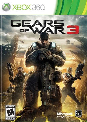 360: GEARS OF WAR 3 WITH GUIDEBOOK (USED)