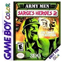 GBC: ARMY MEN SARGES HEROES 2 (WORN LABEL) (GAME)