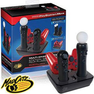 PS3: MULTI-CHARGE STATION - MADCATZ (NEW)