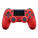 PS4: CONTROLLER - SONY - WIRELESS - MAGMA RED (BULK PACKAGING) (NEW)