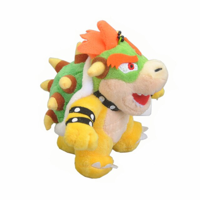 MISC: 7 INCH BOWSER PLUSHIE (NEW)