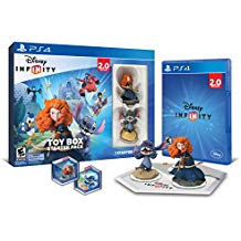 PS4: DISNEY INFINITY 2.0 STARTER PACK (USED)