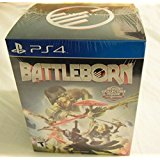 PS4: BATTLEBORN COLLECTORS EDITION WITH COLLECTIBLE FIGURE (COMPLETE)