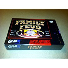 SNES: FAMILY FEUD (BAD LABEL) (GAME)