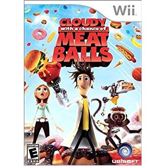 WII: CLOUDY WITH A CHANCE OF MEAT BALLS (COMPLETE)