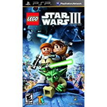 PSP: LEGO STAR WARS III THE CLONE WARS (COMPLETE)