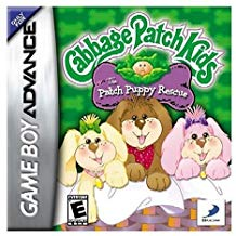 GBA: CABBAGE PATCH KIDS: PATCH PUPPY RESCUE (WORN LABEL) (GAME)