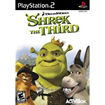 PS2: SHREK THE THIRD (DREAMWORKS) (COMPLETE)