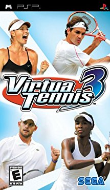 PSP: VIRTUA TENNIS 3 (GAME)
