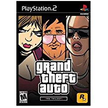 PS2: GRAND THEFT AUTO: THE TRILOGY (3 DISC) (GTA) (COMPLETE)