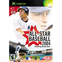 XBX: ALL STAR BASEBALL 2004 FEATURING DEREK JETER (BOX)