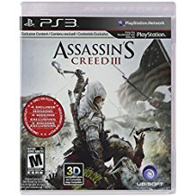 PS3: ASSASSINS CREED III (COMPLETE)